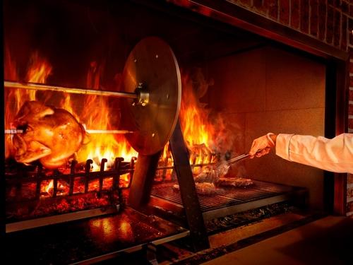 【1泊2食】2017年12月1日OPEN!薪窯調理で魅せる炎のエンターテイメントレストラン「薪火」