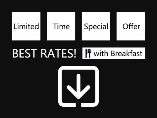 【ベストレート/朝食付】最低価格保証プラン!地場産品を活かした和洋30種類の朝食バイキング