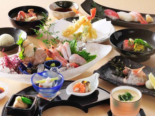 【スタンダード/2食付】のどぐろに舌鼓★地魚料理堪能『花籠御膳』