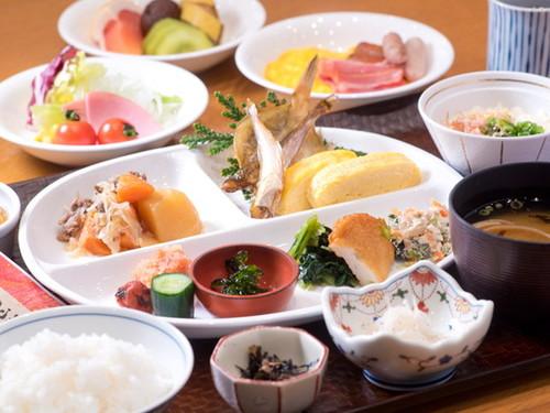 温泉入浴&自慢の朝食バイキング/ビジネスマン応援☆1泊朝食付きプラン