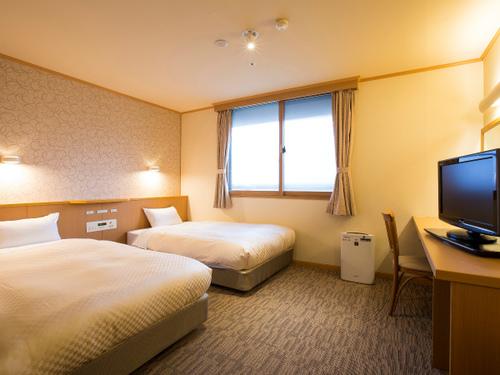 全室Wi-Fi利用無料!【禁煙】洋室素泊まりプラン(プチ朝食付) ビジネスに観光におすすめ