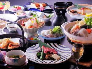 【味のオンパレード】ええとこどり若狭づくし★ぐじ、ふぐ、若狭牛ステーキ、焼鯖寿司★