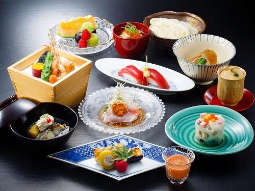 【2食付 スタンダードプラン】鉄板焼・日本料理・中国料理の3種類のレストランより選べるご夕食