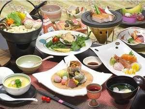 四季の会席☆特選グルメプラン☆夕食はお部屋食でどうぞ♪【スタンダードプラン】