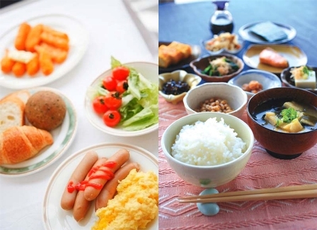 スタンダードプラン-朝食バイキング無料サービス-