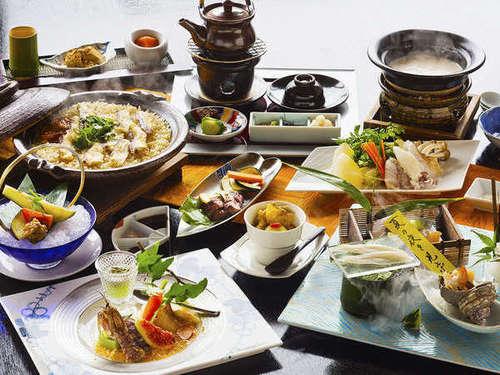 【基本会席】食材が活き、瞬く瞬間。料理旅館が魅せる、『珠玉の幸』ここに誕生。