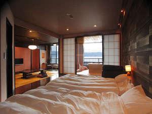 諏訪湖一望の美景を独り占め露天風呂付客室【美湖の雫】プラン