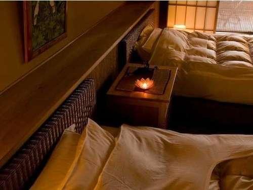 露天風呂付ツインルーム38平米【あくあ2】露天付客室