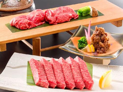 【近江牛会席】三大和牛の一つ認証近江牛の旨みを「ステーキ」や「しゃぶしゃぶ」で堪能!