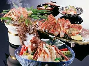 【特選】一級品の地物松葉蟹で用意する、冬季だけのフルコース 松葉蟹会席<冬グルメ★かに>
