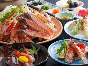 <冬グルメ★かに>カニ料理5品付きお手軽会席プラン(会場食)