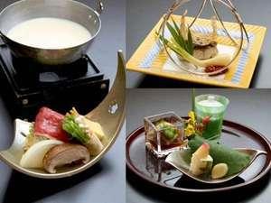 【1泊2食付き】〜日本料理〜新鮮な季節の香りをお届け…♪