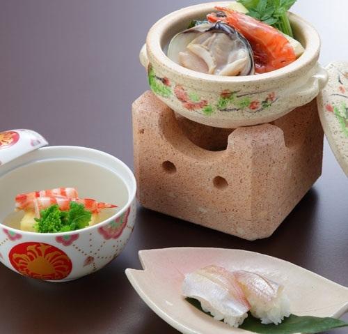 【お料理スタンダード】「若水の旬会席プラン(レストラン食)」