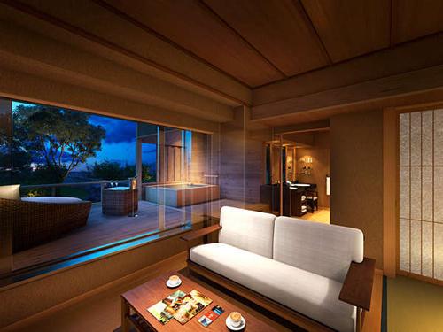 【La gran vista】神戸の景観を独り占め★プライベート感溢れる桧風呂付き特別ルーム