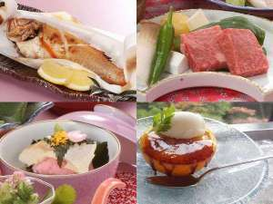 【春の少量美味会席】島根和牛ステーキ×のどぐろ奉書焼き