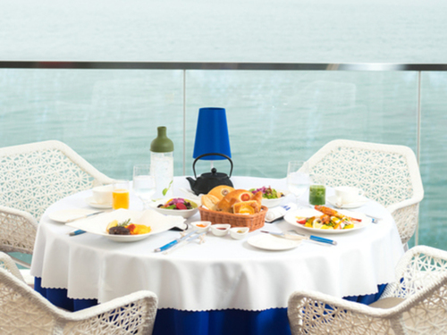 『朝食付プラン★Bed and Breakfast 〜海を眺めながら贅沢な選べる朝食〜』