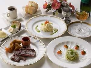 【スタンダードプラン】季節の旬の素材を使用した料理を味わう♪◆洋食コース料理◆