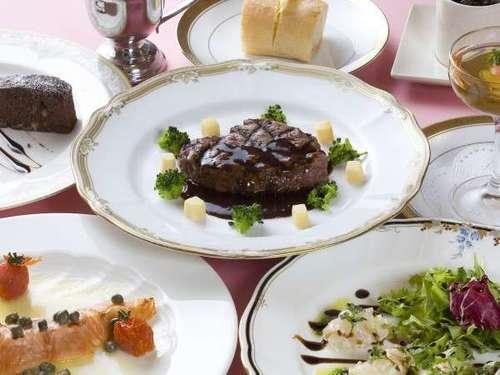 【シェフ特選コース料理】ちょっと贅沢な洋食コース料理に舌鼓♪宿泊プラン■洋食■