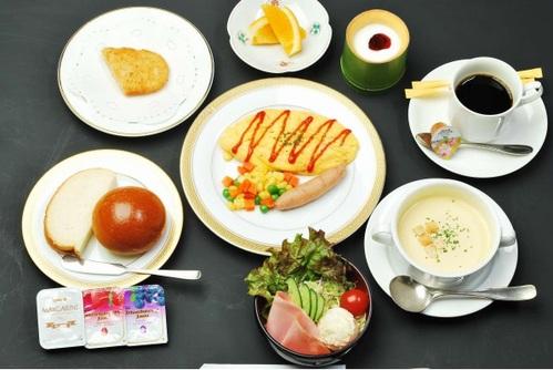 【朝食付き】あなたは和食派?洋食派?お好みに合わせて「選べる」朝食付きプラン♪