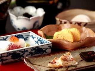 【お気軽ステイ♪】<朝食付き>「料理長こだわりの萩の朝食」優雅な時間をお過ごしください。