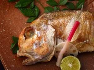 柔らかい肉質で上品な味わい 【萩名物☆甘鯛塩焼きプラン】