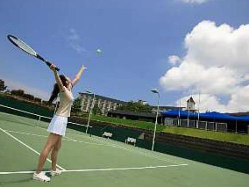 ◎★目指せ第2の錦織圭♪♪2日間テニスコート使い放題★1泊2食付フリーテニスプラン◎