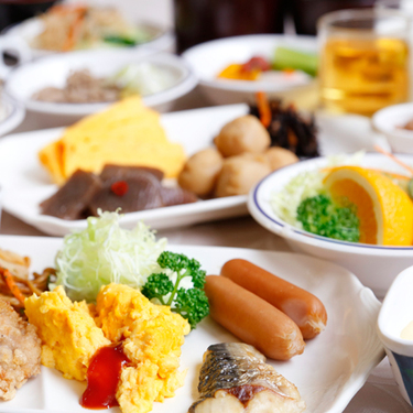 【スタンダード・朝食付き】■1泊朝食付きプラン。ビジネスに最適!7種のお風呂と3種のサウナで◎