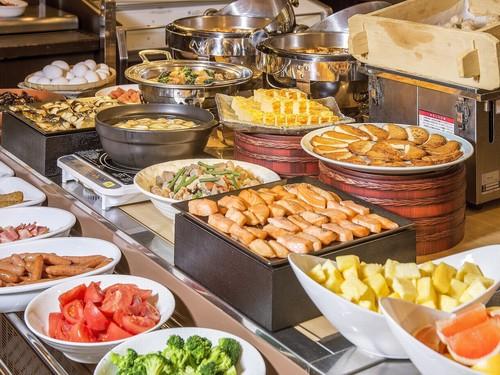 美味しい食事から始まる1日★朝食ビュッフェ付き宿泊プラン♪