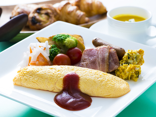 お気軽にご宿泊 『朝食バイキング』付プラン 〜九州・大分の料理や、新鮮な野菜を味わう♪〜
