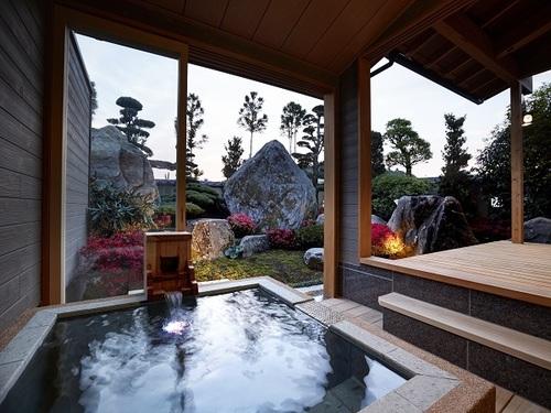 『離れ』神呂木の庄〜熊墅・蓬莱〜<露天風呂付洋室>スピリチュアルをコンセプトにした神秘的な空間