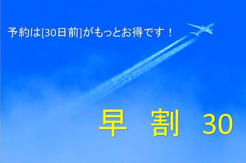 ウルトラ【早30】★【早期割30】30日前予約は、超お得!!★