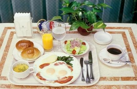 朝はしっかり! 朝食付プラン
