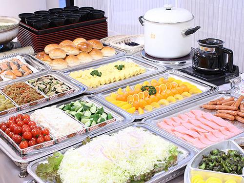 ◆朝食付プラン〜和洋バイキング〜<朝食は7:00から>