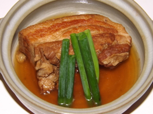 【調理長おすすめ!】国産豚やわらか角煮付プラン