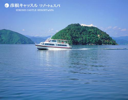 【1泊2食付】 竹生島クルーズ〜神の住む島〜