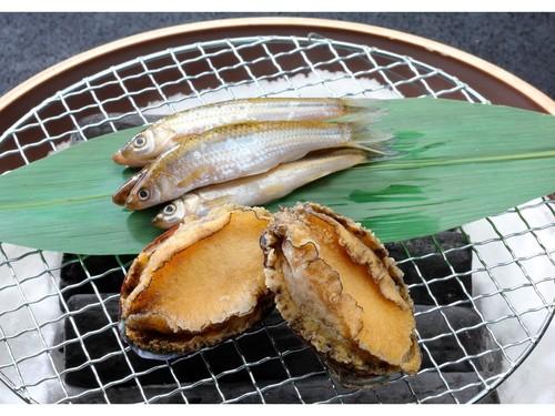 【1泊2食付】近江旬食材を楽しむ和会席 近江牛水晶プレートと蒸し鮑炭火焼