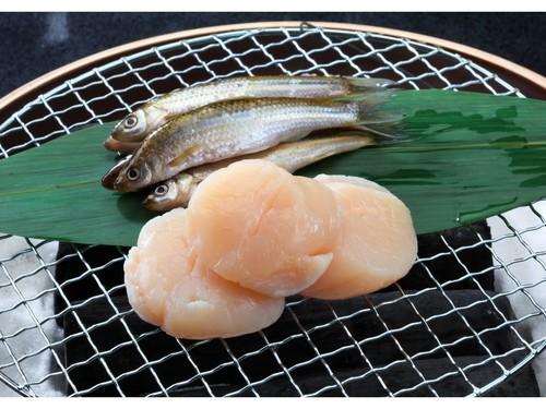 【1泊2食付】近江旬食材を楽しむ 和会席 近江牛水晶プレートと帆立貝柱炭火焼