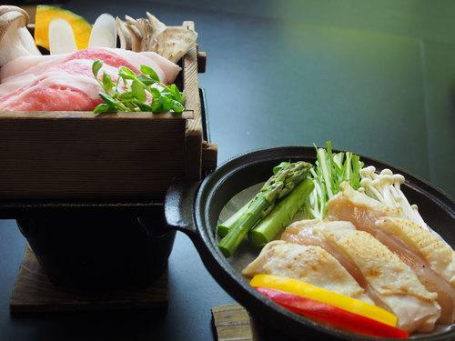 【1泊2食付】当館自慢の鯉料理と、地元のお肉料理も楽しめる!≪部屋食≫
