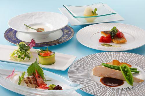 【うみんぴあをリーズナブルに楽しむ】オーシャンビューと創作料理を愉しむ コースヴェルデ