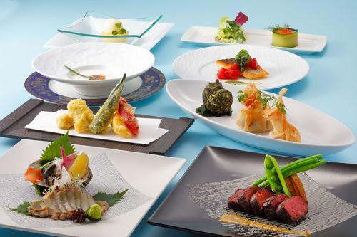 【最高ランクのご夕食】旬の厳選食材で贅沢なディナータイム〜コースフィオーレ〜