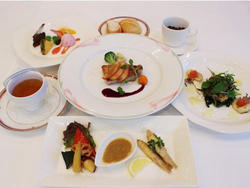 【1泊2食】女性におすすめ☆健美食彩プラン☆目で楽しみ・舌で味わう フレンチディナー