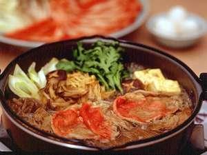 【お部屋食・すき焼き】時間も気にせず調理もラクラク「すき焼き」パーティープラン