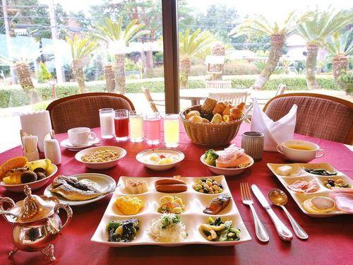 【1泊朝食付き】お風呂と高原の朝食ブッフェで伊豆高原をエンジョイするプラン