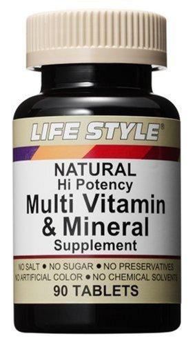 ・栄養機能食品 ・内容量:90錠 ・含有成分(1日あたり):ベータカロチン5000IU、ビタミンD400IU、ビタミンE 100IU、ビタミンC 200mg、ビタミンB1 17.5mg、ビタミンB2 17.5mg、ビタミンB6 17.5mg、ナイアシン20mg、ビタミンB12 17.5mcg、ピオチン 18mcg、パントテン酸 17.5mg、葉酸 100mcg、マグネシウム 50mg、 カルシウム 150mg、鉄 8.3mg、ヨード 150mcg、亜鉛 5mg、銅 2mg、マンガン 1mg、クロム 50mcg、 セレニウム 25mcg、モリブデン 7.5mcg ・1日あたりの値段:約60円