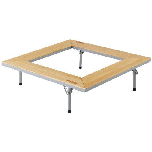 使用時/約92×92×27cm、テーブル内寸/約62×62cm 収納時/約92×16×16cm 重量:約10.9kg