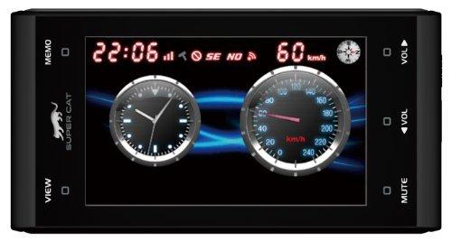 ・GPS情報の更新:有料 ・本体の形状:一体型 ・受信可能バンド数:14 ・Wi-Fiによるデータ更新機能:◯ ・センサー:× ・OBDⅡ対応