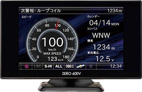 ・GPS情報の更新:無料 ・本体の形状:一体型 ・受信可能バンド数:18 ・Wi-Fiによるデータ更新機能:× ・センサー:Gセンサー ・OBDⅡ対応
