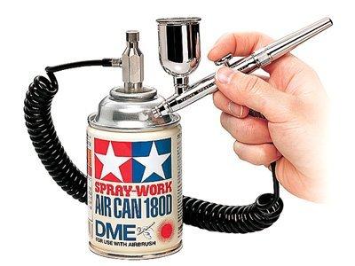 ・ハンドピースのタイプ:シングルアクション ・ノズルの口径:0.3mm ・塗料カップのタイプ:分離型 ・エア―缶がセット