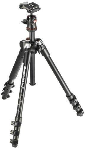 ・耐荷重:4.0kg ・雲台:自由雲台 ・素材:アルミ製 ・最低高:34cm ・全高:144cm ・脚ロック方式:レバーロック式 ・脚段数:4段