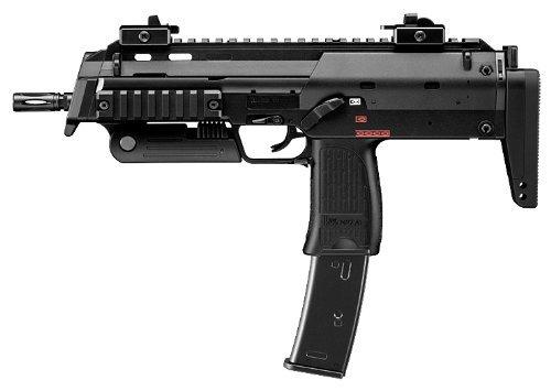 全長:381mm / 586 mm(ストック最大伸長時) 重量:2200g 装弾数:41発